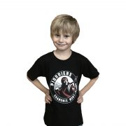 T-shirt-noir-junior-face